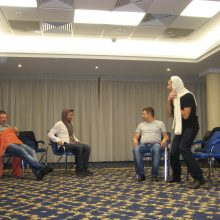 Grupinė psichodramos terapija Kijeve
