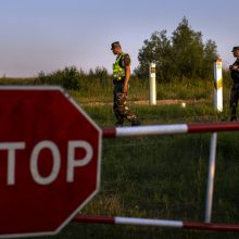 Pasieniečiai praėjusią parą į Lietuvą neįleido 17 migrantų