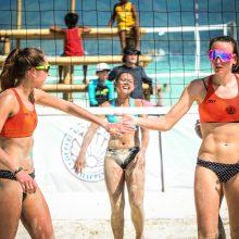 Nauja Lietuvos paplūdimio tinklinio pora Filipinuose užėmė penktąją vietą