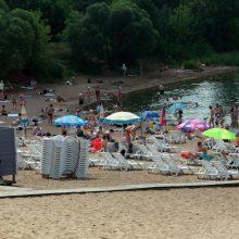Miestiečiai užgulė Kauno paplūdimius