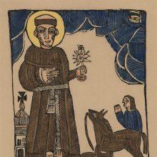 Raižiniuose įamžintos šventųjų gyvenimo istorijos