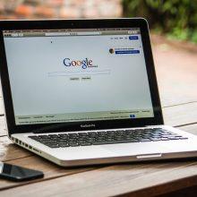 """Verslo idėją pataria tikrinti """"Google"""" paieškoje"""