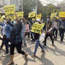 JT: Mianmare per neramumus auga mirčių skaičius, šimtai dingusių žmonių