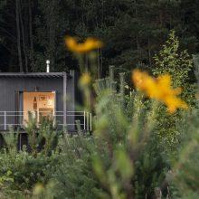 Trobelė miške: romantiškas prieglobstis dviem