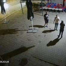 Vilniaus policija aiškinasi, kas nuplėšė Lietuvos vėliavą nuo muziejaus fasado