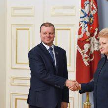 """S. Skvernelis: filmas apie D. Grybauskaitę primena """"kitokį laikotarpį"""""""
