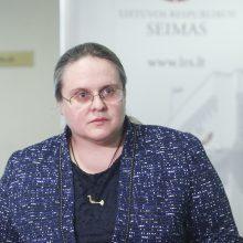 A. Širinskienės vadovaujama komisija nori, kad jos darbas būtų pratęstas iki gruodžio