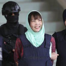Kim Jong Namo nužudymu kaltinama vietnamietė išvengė mirties bausmės