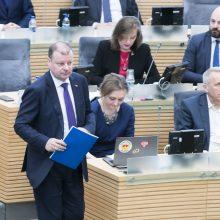 S. Skvernelis įvardino sritis, kuriose Vyriausybė galėjo dirbti geriau