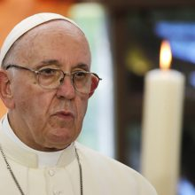 Vilniaus gete popiežius pagerbs Holokausto aukas