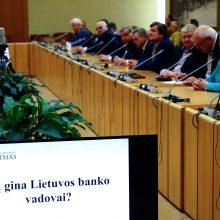 S. Jakeliūnas pareiškė nepasitikėjimą V. Vasiliausku: ragins atsistatydinti
