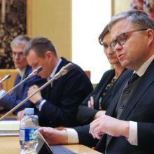 V. Vasiliauskas kaltina S. Jakeliūną spaudimu Lietuvos bankui, pastarasis stebisi