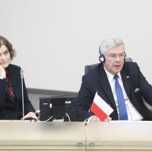 Lenkijos Senato pirmininkas: mūsų nesutarimais naudojasi priešai