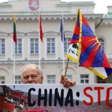 Tibeto rėmėjai prezidentės darbotvarkėje pasigenda dėmesio žmogaus teisėms