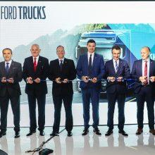 """""""Autokurto"""" padaliniuose – """"Ford Trucks"""" oficialių atstovybių atidarymas"""
