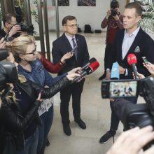 Prie opozicinės konservatorių frakcijos jungiasi B. Matelis