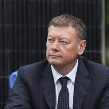 V. Janulevičius pritaria karantino ribojimams: pramonę jie paveiks minimaliai