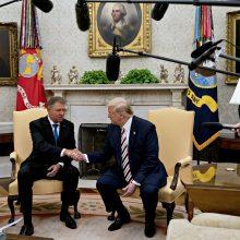"""Baltieji rūmai: JAV ir Rumunija prieštarauja dujotiekiui """"Nord Stream 2"""""""