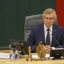 Teismas Seimo pirmininko skundą atmetė kaip nepagrįstą