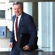 J. Narkevičius atsisako buto Seimo viešbutyje, kur nakvoja jo dukra