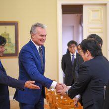 G. Nausėda į Lietuvą pakvietė Japonijos verslą