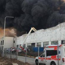 Alytaus Ekstremalių situacijų komisija vėl tarsis dėl gaisro gamykloje