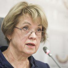 """Diskusijos dėl rezoliucijos Seime: konservatorė R. Žemaitaičiui siūlė """"nekišti savo trigrašio"""""""