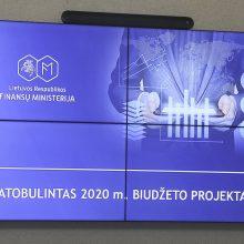 Vyriausybė pritarė patobulintam valstybės ir savivaldybių biudžetų projektui