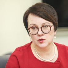 VMI vadovė E. Janušienė skiriama dar vienai kadencijai