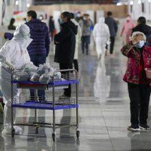 Pekinas: koronaviruso inkubacinis periodas gali siekti 27 dienas