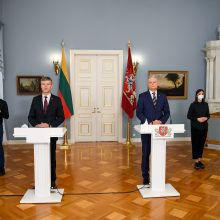 Prezidentas teikia D. Jauniškio kandidatūrą į VSD vadovus
