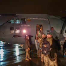 Į tarptautinę misiją Malyje išvyko 33 kariai
