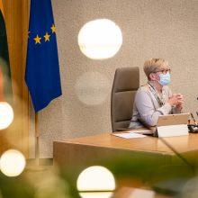 Premjerė su J. Stoltenbergu aptarė galimybes NATO vadovų susitikimą surengti Lietuvoje