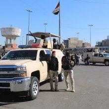 Bagdado centre nugriaudėjus dviem sprogimams žuvo mažiausiai 20 žmonių