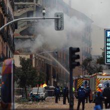 Sprogimo Madride aukų skaičius išaugo iki keturių