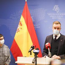 G. Landsbergis: imuniteto pasas pradės veikti, kai vakcina bus prieinama visiems žmonėms