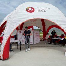 Nacionalinis kraujo centras nuo COVID-19 šią savaitę skiepys Ignalinoje, Šalčininkų rajone