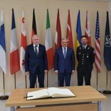 Ukraina oficialiai tapo NATO Energetinio saugumo kompetencijos centro Vilniuje nare