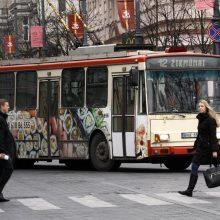 Ž. Mauricas: nemokamo viešojo transporto įvedimas gali atsisukti kita puse