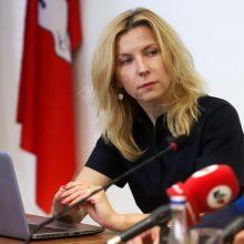 TS-LKD komunikacijai vadovaus V. Šmaižytė