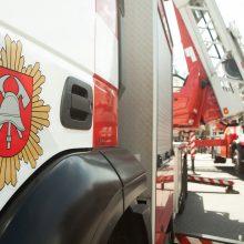 Šiaulių policijos komisariato pastate buvo kilęs gaisras