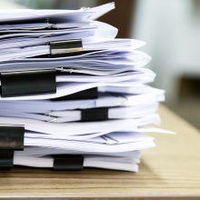 Probacijos tarnyba pradėjo patikrinimą dėl be priežiūros paliktų archyvinių dokumentų