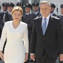 Slovakijos prezidentė ragina regioną siekti ES tikslų