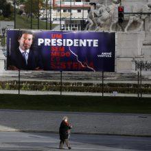 Nepaisydami karantino, portugalai balsuoja prezidento rinkimuose