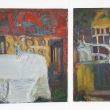 """Gyvenimo ir tapybos pamokos: paroda """"A. Savicko mokiniai"""""""