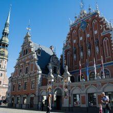 """Latvija reiškia protestą Rusijai dėl """"išvadavimo"""" saliutų"""