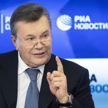 ES pratęsė sankcijas V. Janukovyčiui