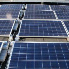 Kauno rajono mokyklas elektra aprūpins saulės kolektoriai