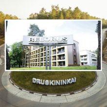 """URM: """"Belorus"""" sanatorijai leista darbuotojams išmokėti atlyginimus už sausį"""