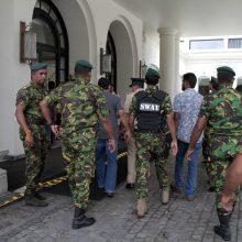 Šri Lankoje sprogdinimų aukų skaičius išaugo iki 290